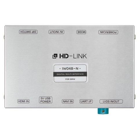Видеоинтерфейс с HDMI для BMW CIC с активными парковочными линиями Превью 1
