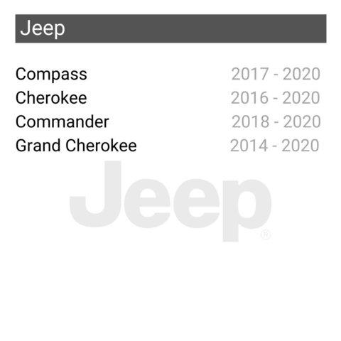 Беспроводной CarPlay и Android Auto адаптер для Jeep Cherokee / Grand Cherokee / Commander / Compass Превью 1
