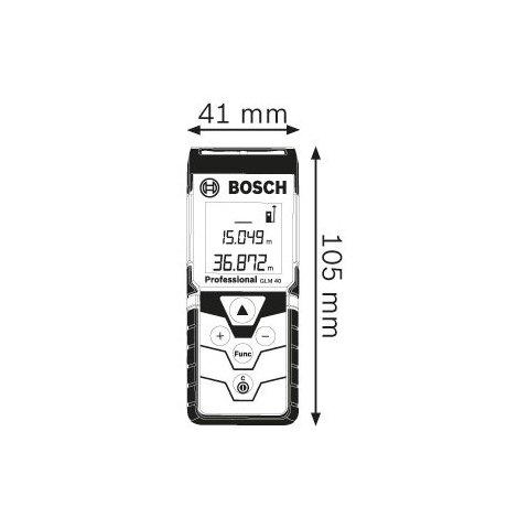 Цифровий далекомір Bosch GLM 40 Прев'ю 1