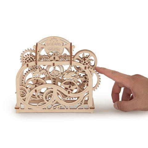 Механічний 3D-пазл UGEARS Театр